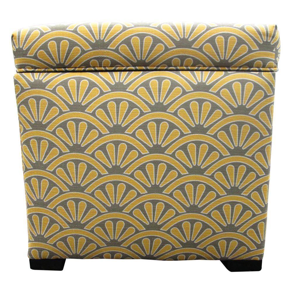 Magnífico Almacenamiento De Pelo Insertado Muebles Otomana Imágenes ...