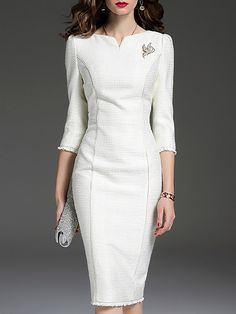 Stylewe Cocktail Dresses Long Sleeve Bodycon Dresses Date Bodycon Bateau/boat Ne…