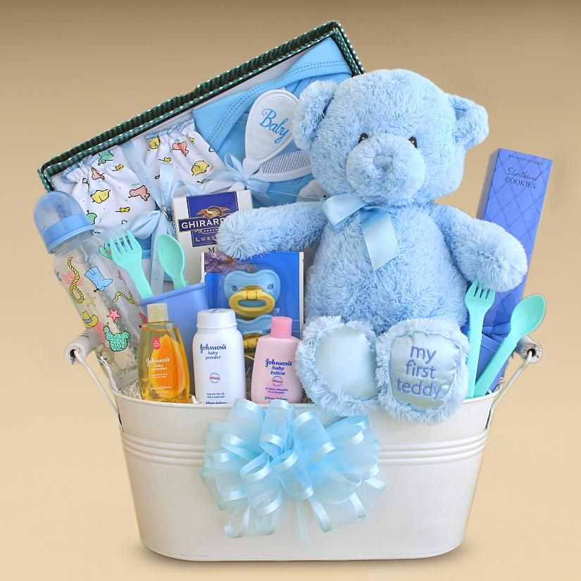 Unique Baby Shower · Baby Gift Baskets | Gift Baskets Created : Baby Boy  Gift Basket Bliss Out Peace Out