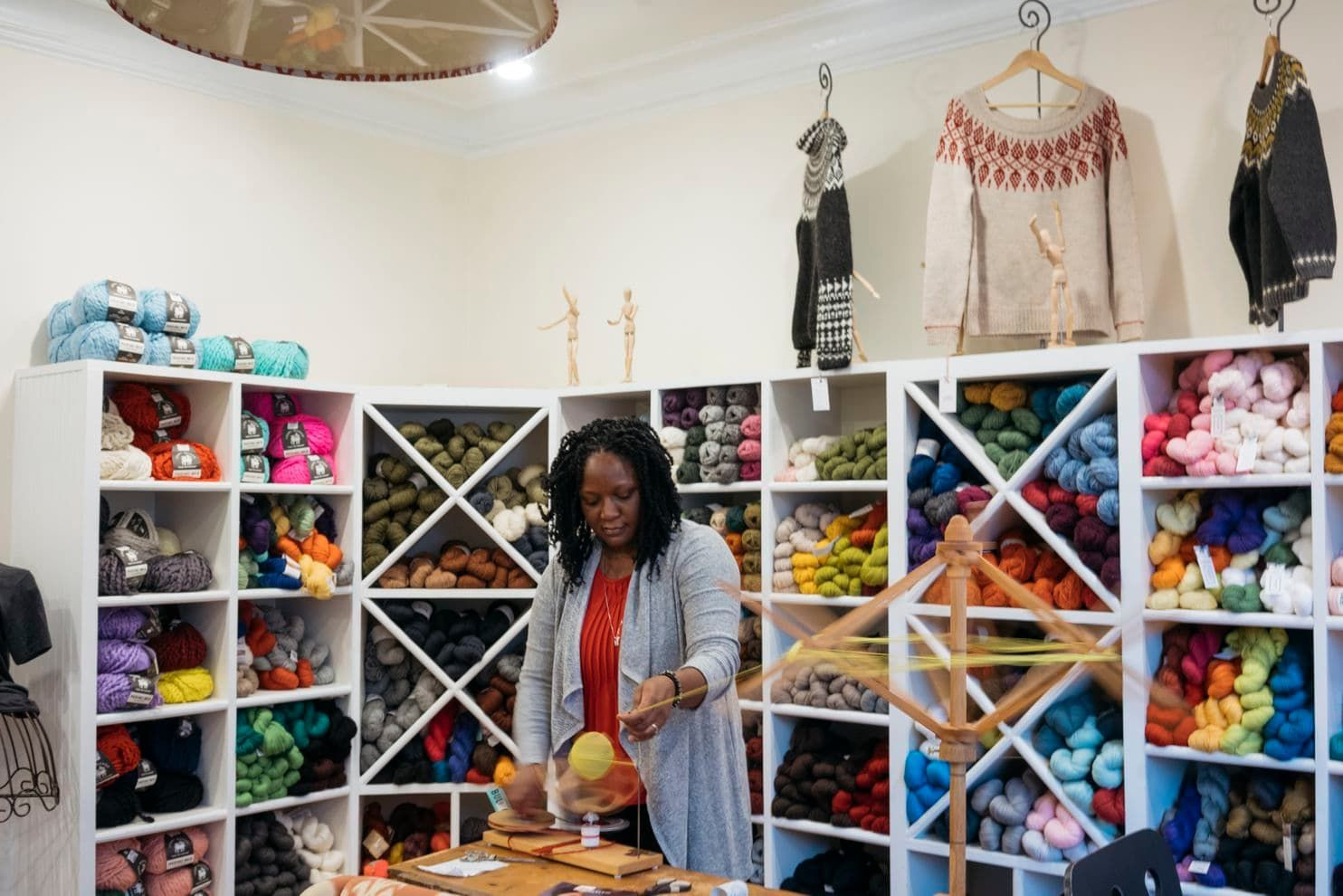 This researcher studied 400,000 knitters and discovered