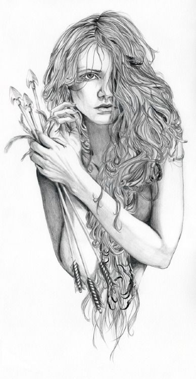 pencil drawing is my favorite