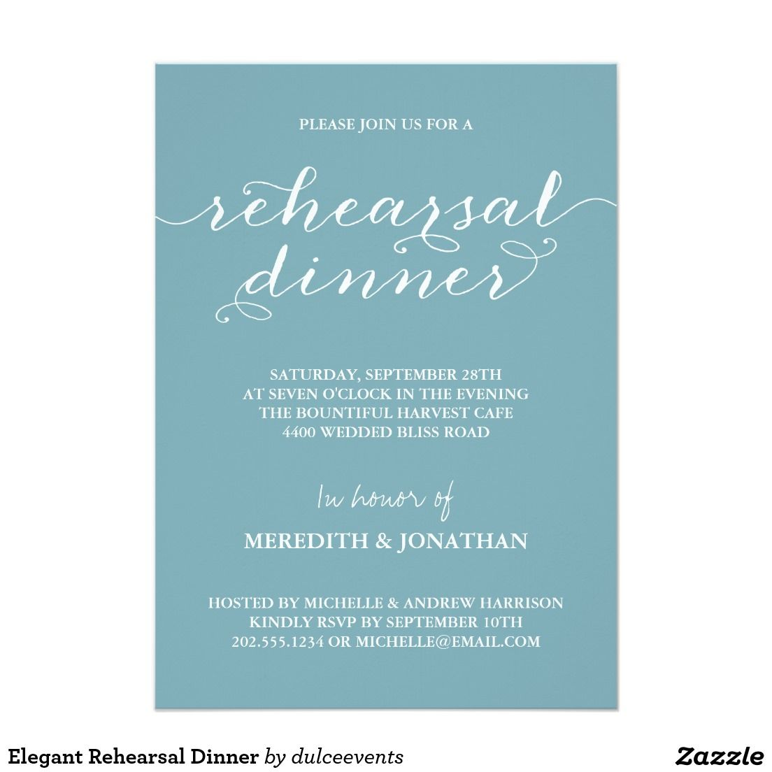 elegant rehearsal dinner wedding rehearsal dinner invitations