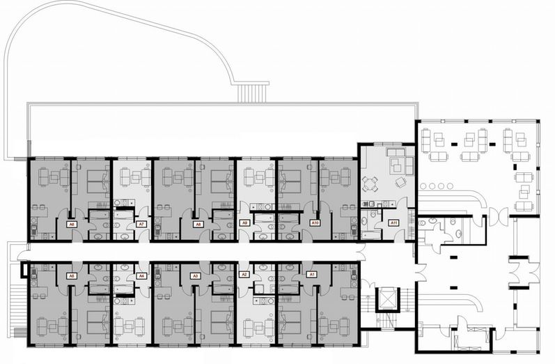 Image Result For Hotel Room Layout Dimensions Boutique Hotel Lobby Hotel Floor Plan Hotel Floor