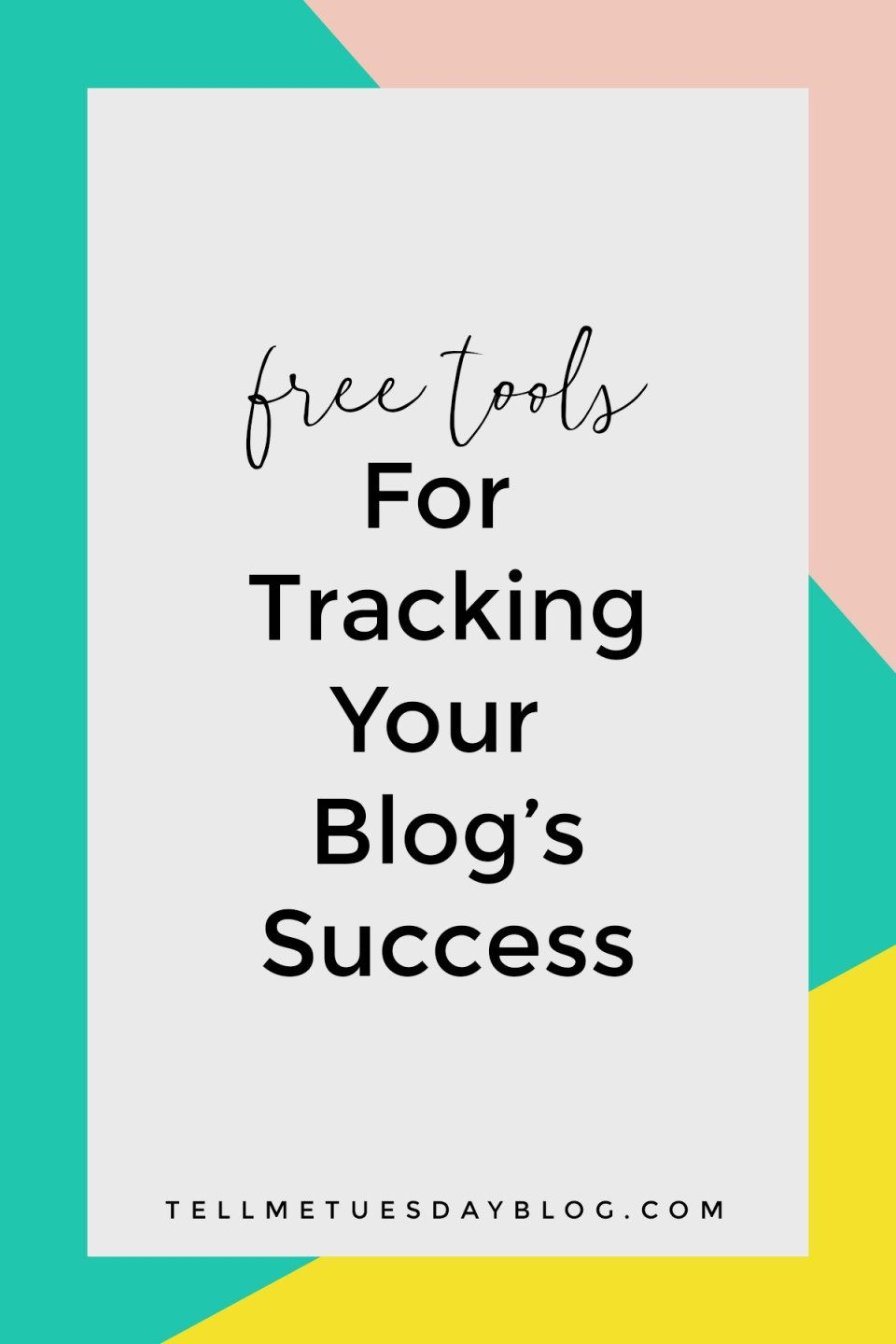 Free Tracking Tools For Your Blog  Want To Know How Successful