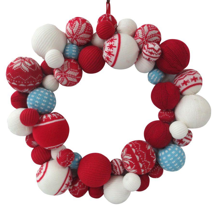 Shop Holiday Living Nordic Noel 18-in Unlit Ornament Artificial ...