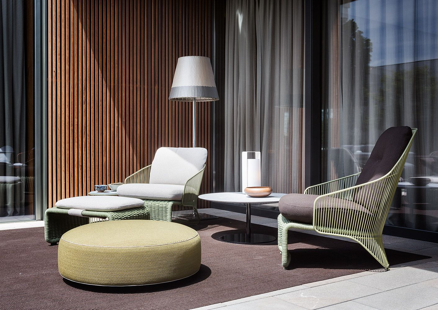 Urban Sofa Barneveld Minotti Outdoor Collection Colette