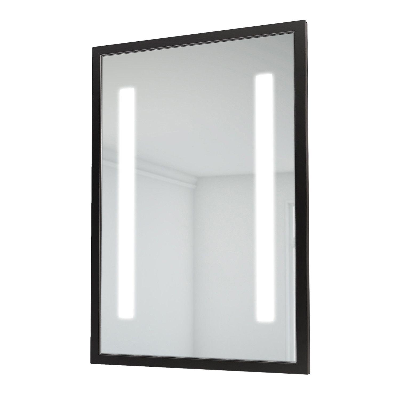 Retro Collection Led Bathroom Mirror 23 X 35 Black In 2020 Mirror Led Mirror Led