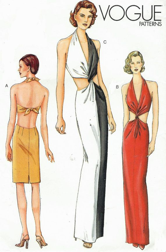 sexy bias cut evening gown