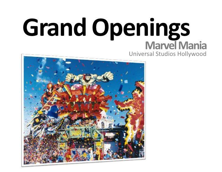 Utopia Themed Entertainment Design And Production Universal Studio