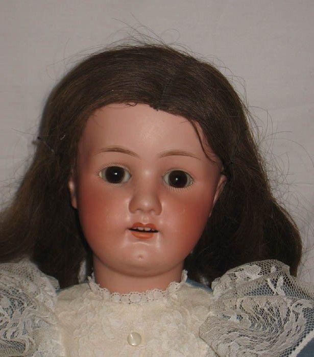 Antique 24 Ernst Heubach Koppelsdorf Bisque Socket Head Doll 250