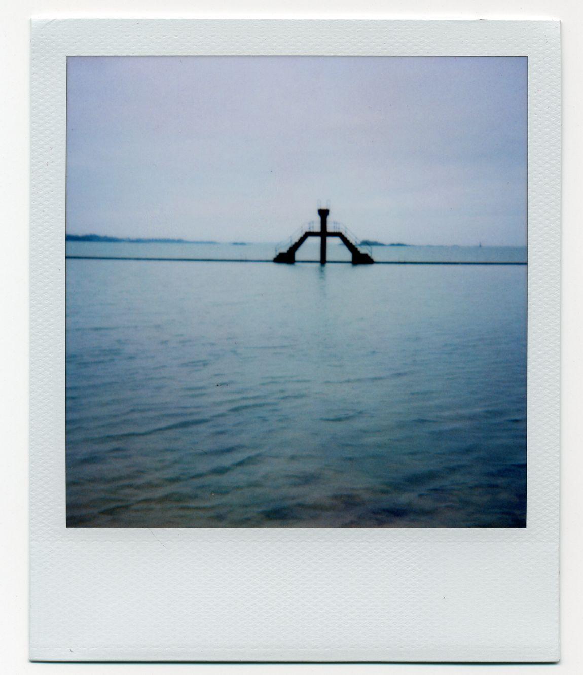 St-Mallo - Camera : SX-70 - Film : Polaroid Time Zero