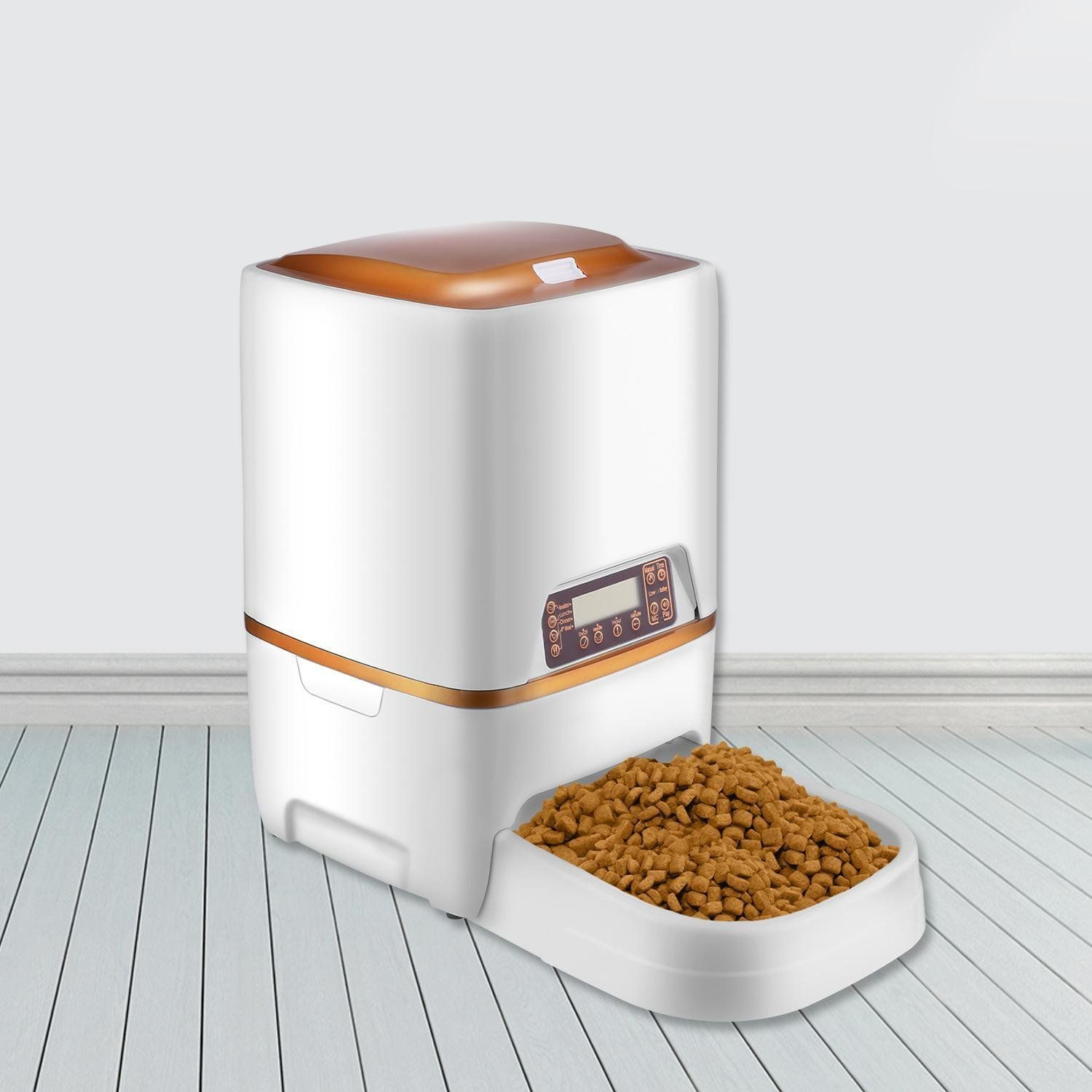 Kaluo 6L Automatic Pet Feeder Food Dispenser for Cats and