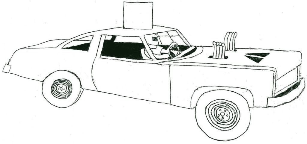 Demolition Derby Car Coloring Pages With Images Demolition