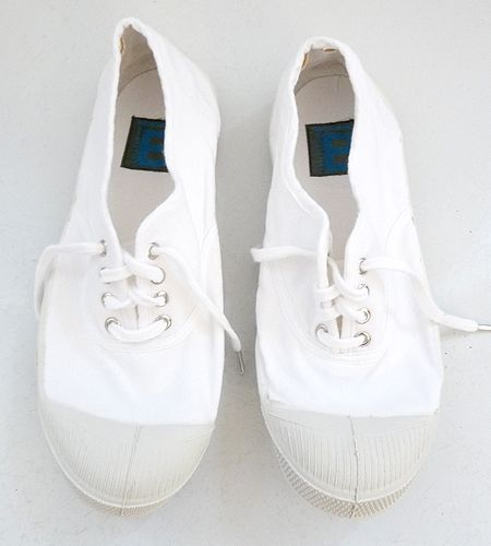 Damen Bensimon Whity Sneaker Weiß
