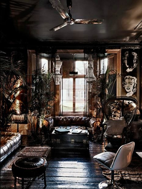 binnen Bohemian Pinterest Bohemian, Living rooms and Living