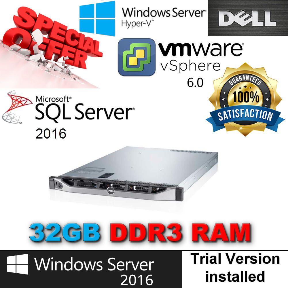 Dell PowerEdge R420 2x E5-2450 2 10Ghz 8-CORE 32GB RAM