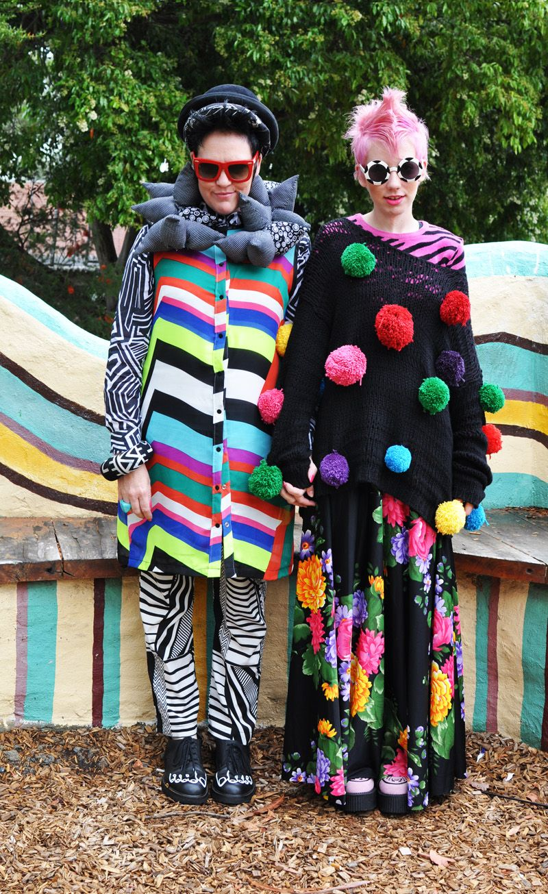 Colour Lovers- Kazz and Edie (Mother & Daughter)