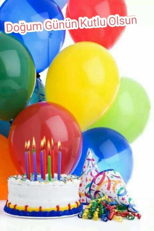 En Guzel Resimli Dogum Gunu Mesajlari Dogum Gunu Kartlari Dogum Gunu Resimleri Pastali Happy Birthday Cakes Happy Birthday Greetings Balloon Birthday Cakes