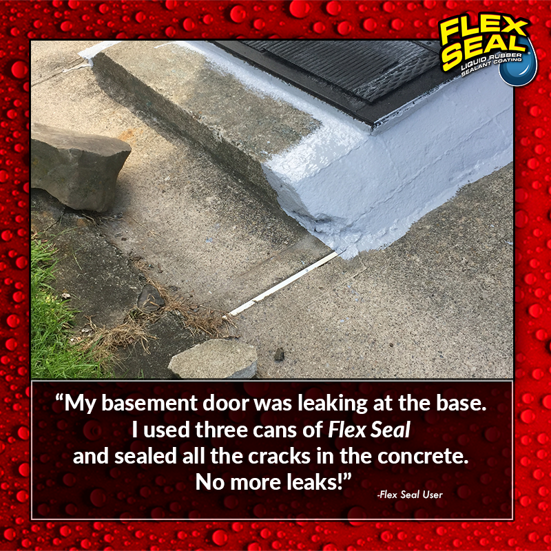 Unique Flex Seal for Basement Walls