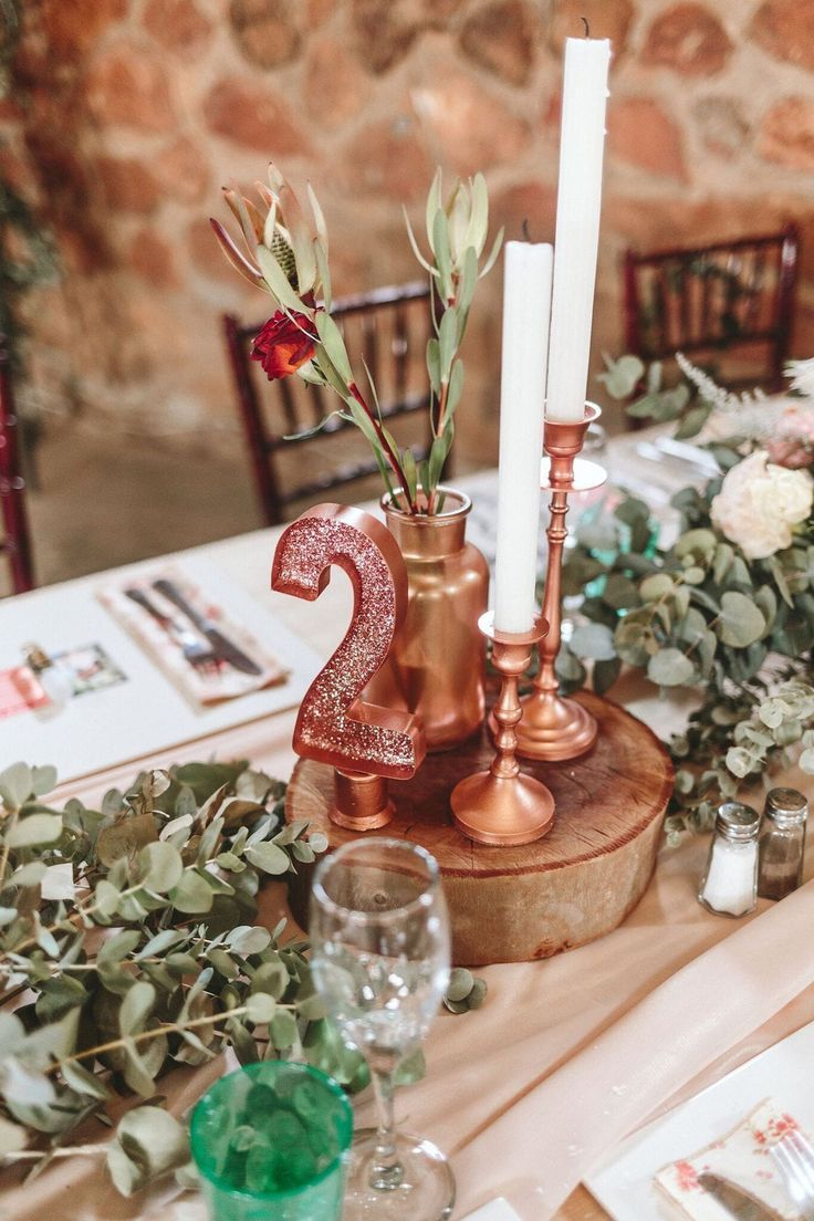 Rustic Rose Gold Wedding At Tuin Van Eden By Aline Photography