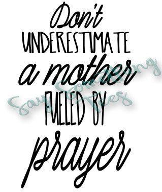 Mother s Day svg Mother svg mom svg prayerful by