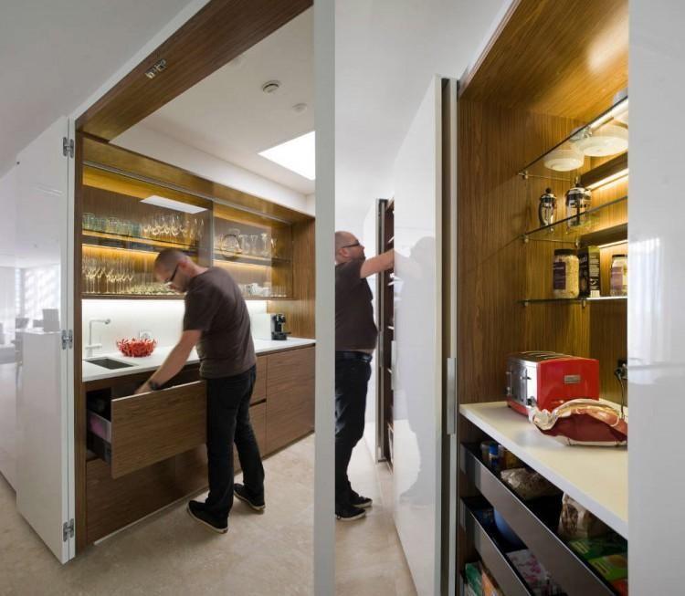 Cocinas Ocultas Para Casas Pequenas Cocina Oculta Cocinas