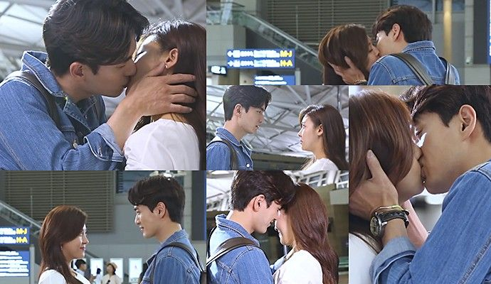 Imagini pentru The Time We Were Not In Love  kiss kdrama