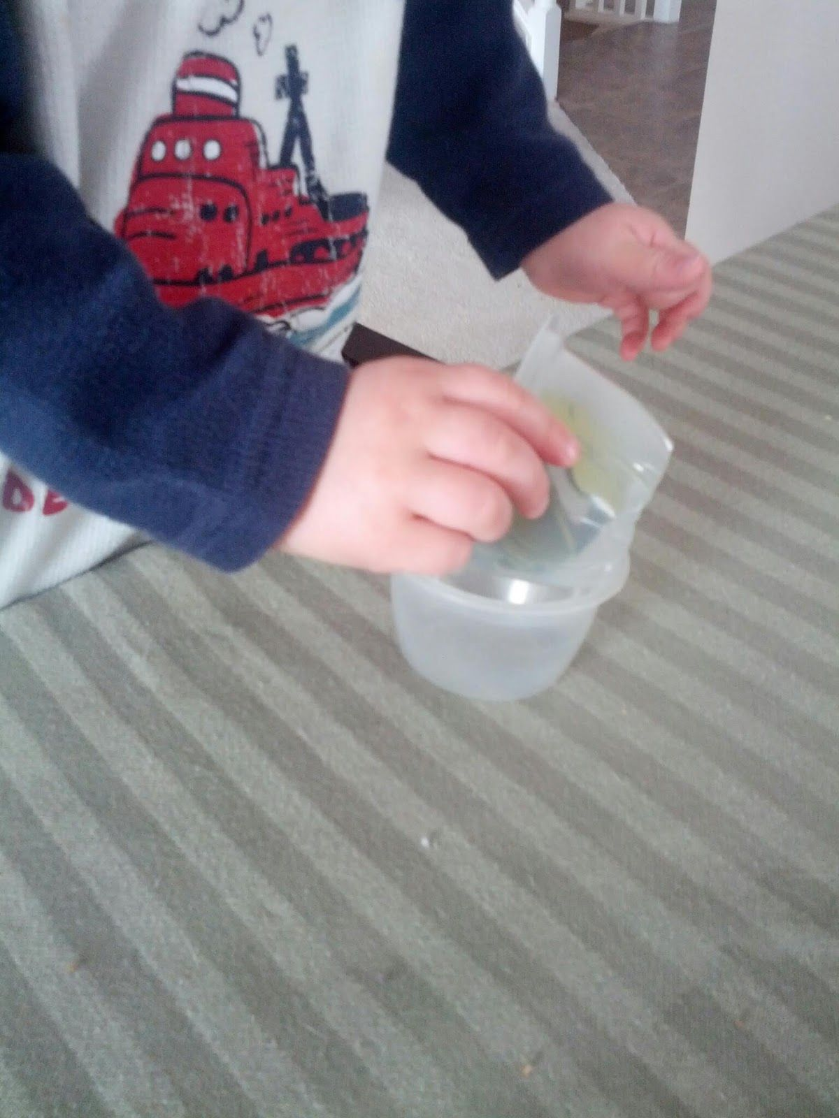 Shamrock Transfer Activity For Toddlers