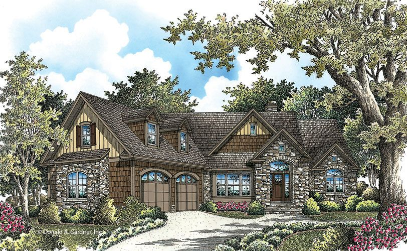 Plan of the week over 2500 sq ft the sandy creek 3123 for 2500 sq ft house plans with walkout basement