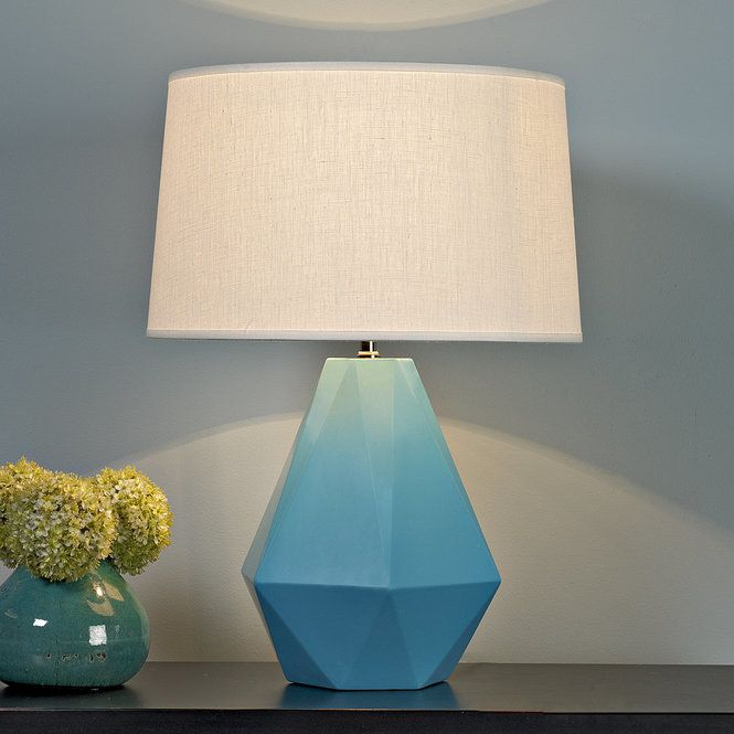 Sizzling colors geometric ceramic table lamp ceramic table lamps sizzling colors geometric ceramic table lamp turquoise aloadofball Gallery