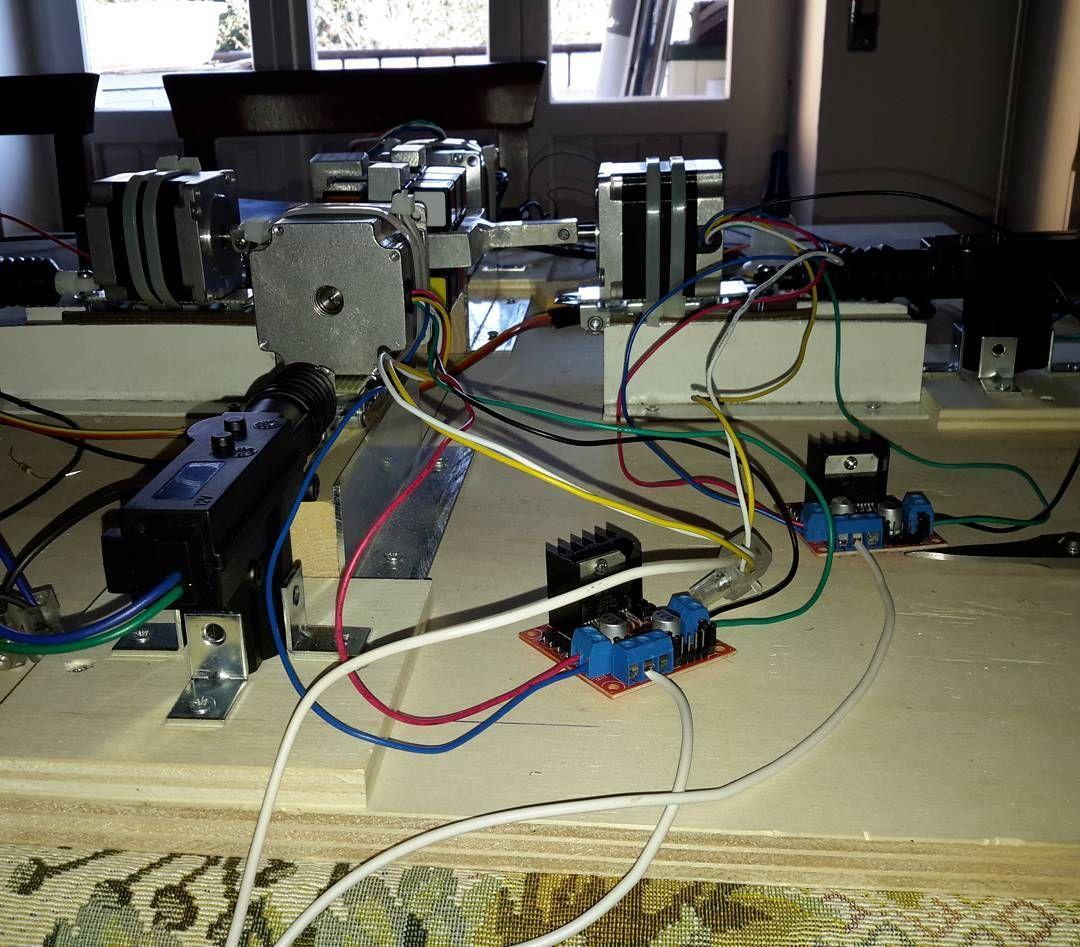 Project Cube Too Many Wires Arduinorubrikscubewirewirescube Stepper Motor Wiring Arduino Arduinorubrikscubewirewirescubemotorstepper Steppermotorstepbystepmakermakersexamschoolfinalexamfinalexamsmaturit2016 By