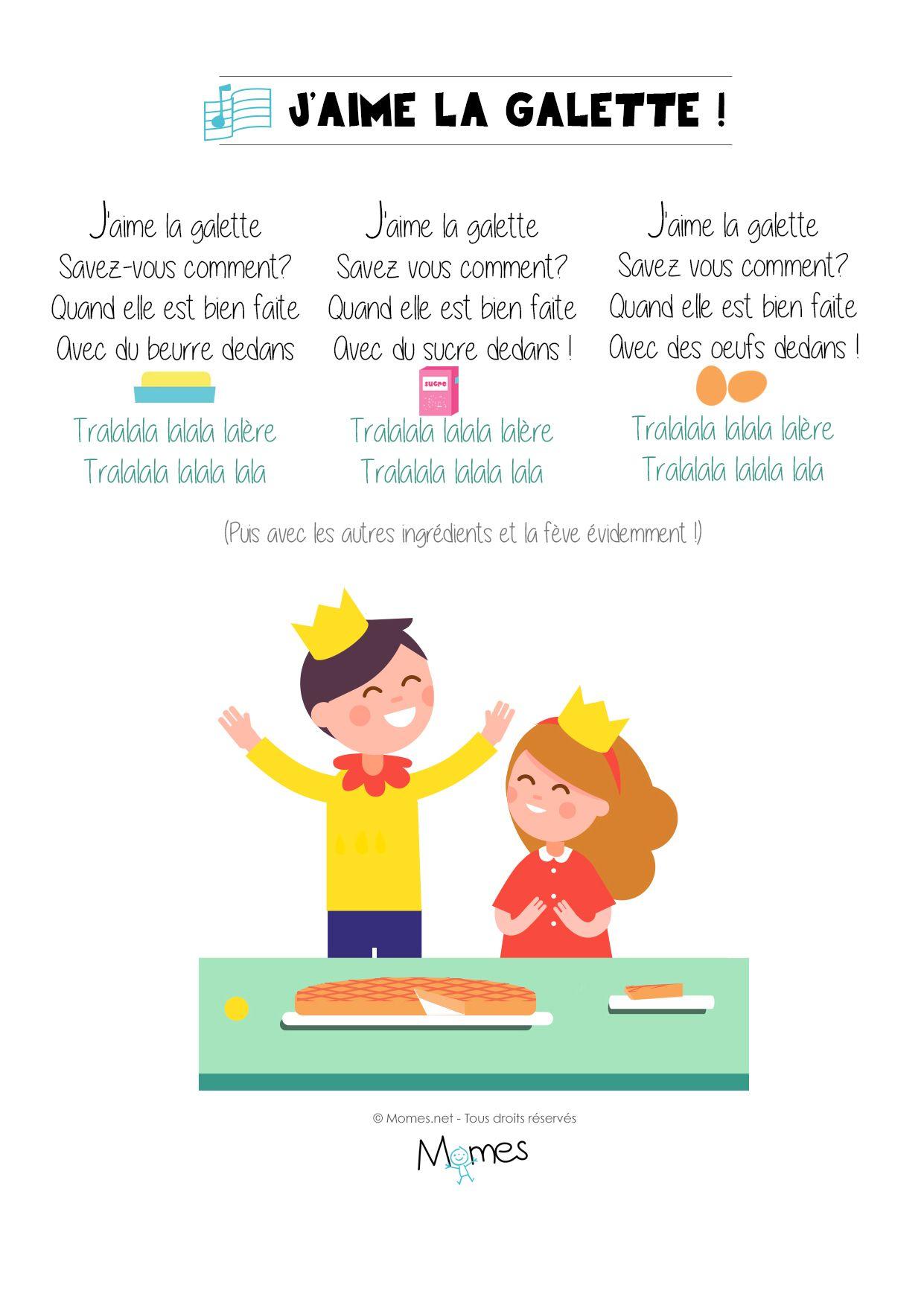J'aime La Galette Paroles - TRADITIONNEL - GreatSong