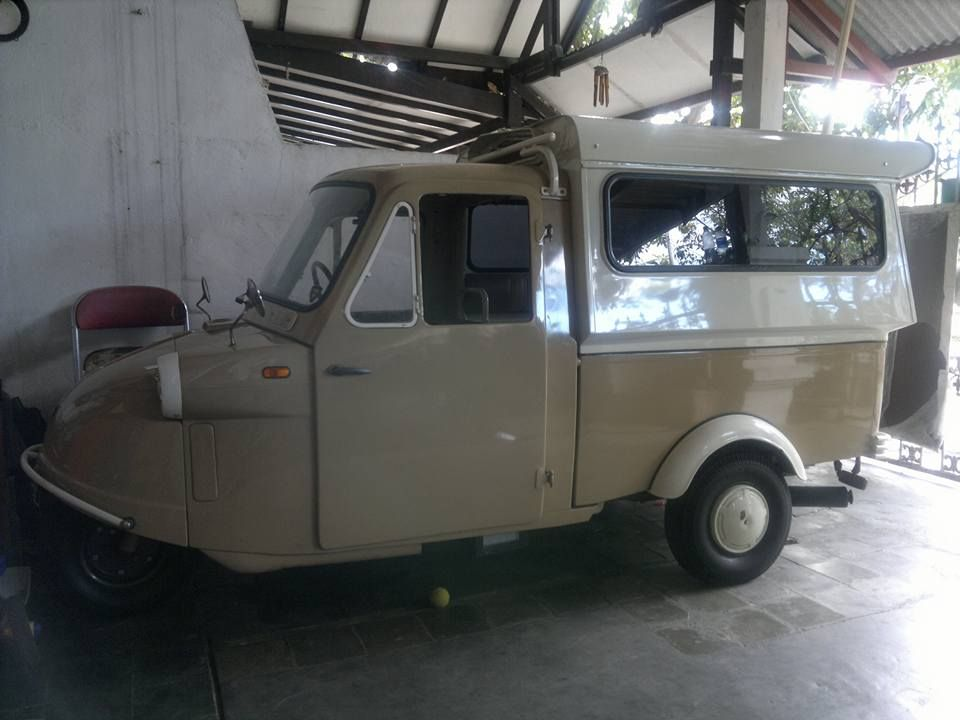 Khusus Kolektor Dijual Bemo Antik Daihatsu Midget 62 Surabaya