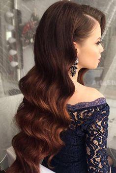 23 Most Stylish Homecoming Hairstyles Mezunlar Gunu Sac