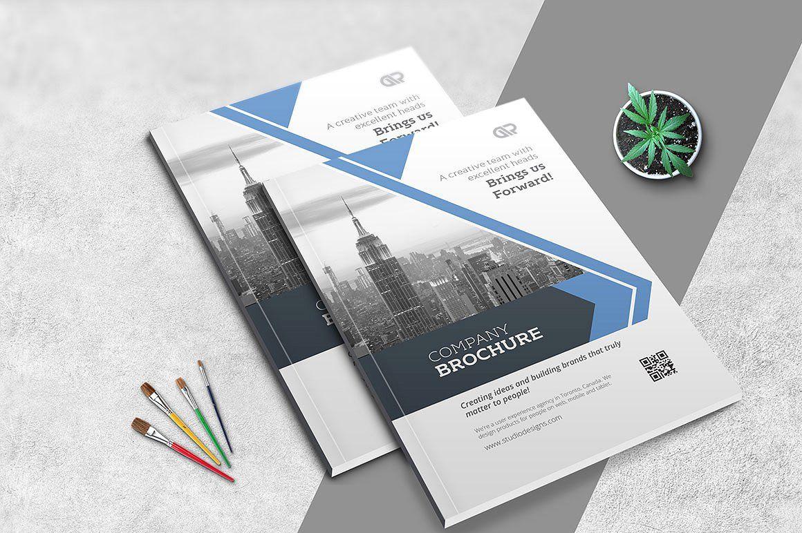 10 Creative Brochures - Mega Bundle by Studio Designs on ...