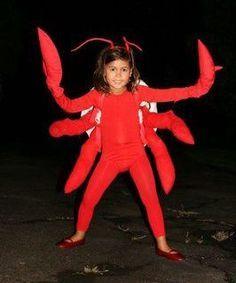 DIY Lobster / Crab Costume | maskerix.com | Lobster ...