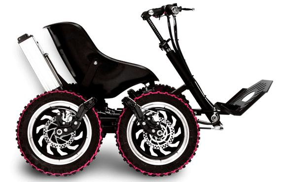 Zoom 4wd Electric All Terrain Vehicle From Sweden Terrain