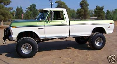 1973 F 350 Super Camper Special Converted To 4x4 390 V 8 38 1