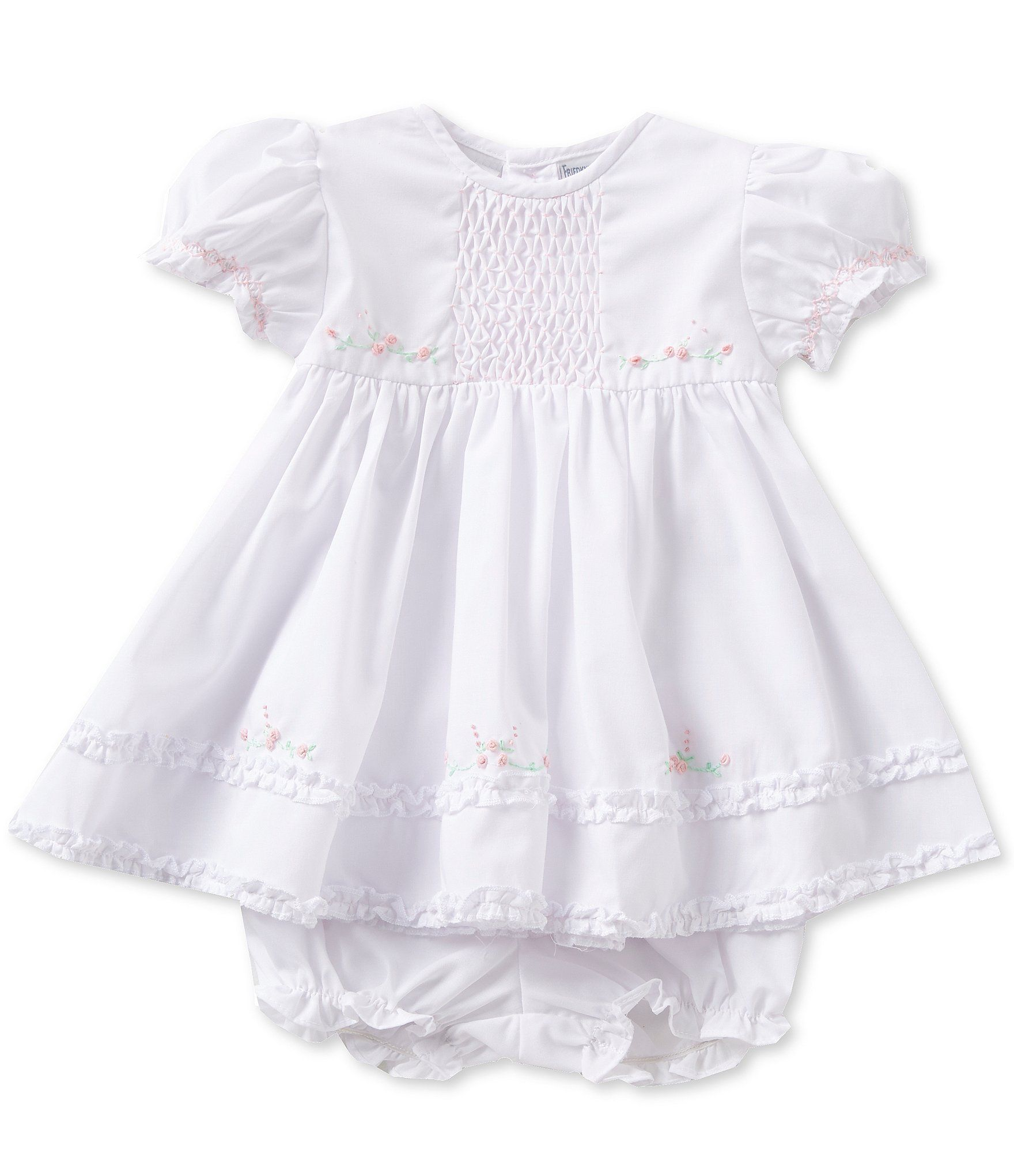 Chiffon Jumpsuit Dresses for Baby Girls 3-9 Months Baby Girl Ruffle Dress
