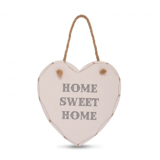 Decorative U0027Home Sweet Homeu0027 Heart Sign For ...
