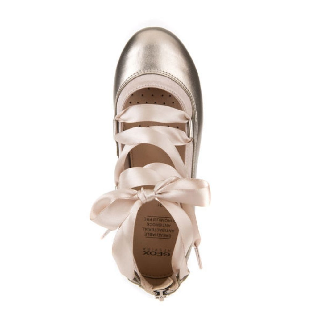 the latest aa941 981b3 Geox Shoes   Geox Piuma Rose Gold Girls Shoes   Color: Gold ...