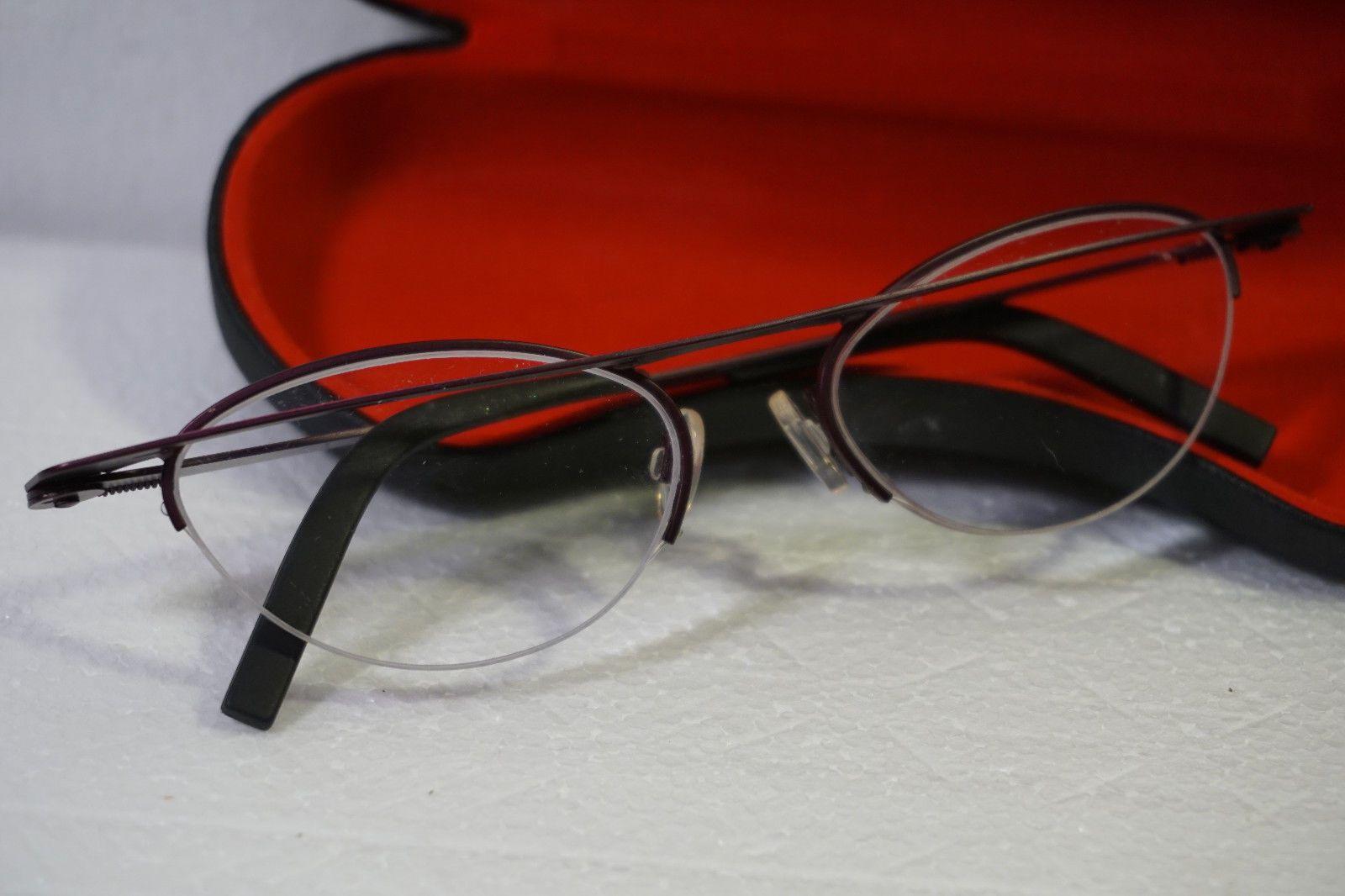 0db4db9018 Theo Tortilla Aluminum Eyeglass Frames Fushcia Aubergine Interesting Design