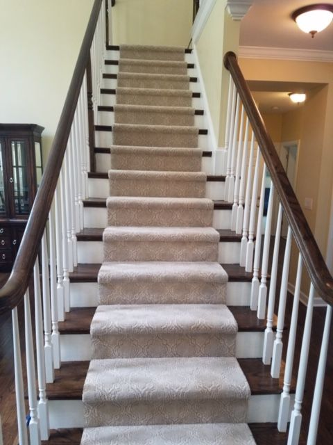 Best Hardwood Stair Tread And Carpet Runner Installation By 400 x 300