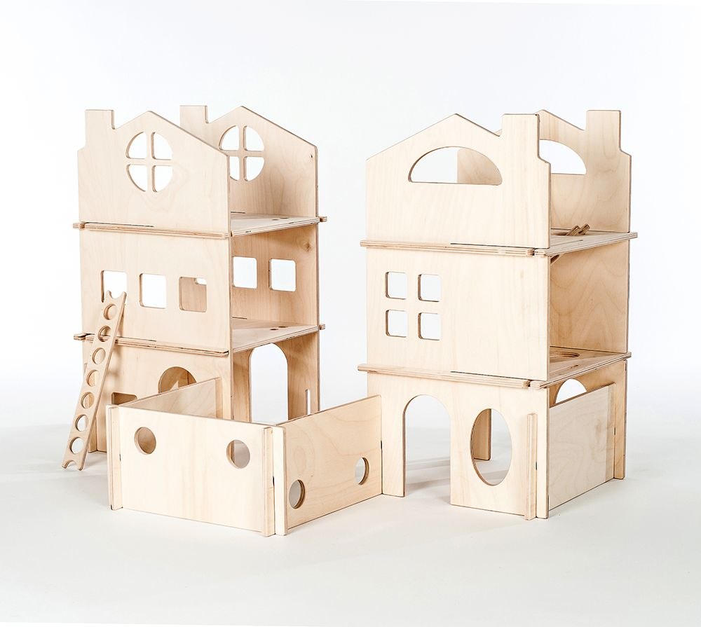 Modular Towers, Dollhouse Set
