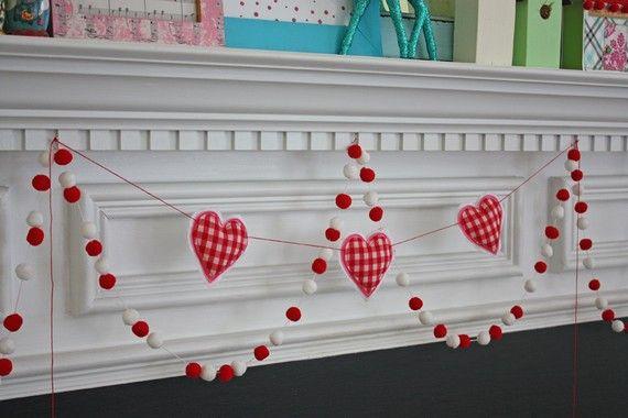 more heart garland ideas