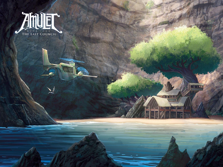 Amulet The Last Council Vol 4 Kazu Kibuishi