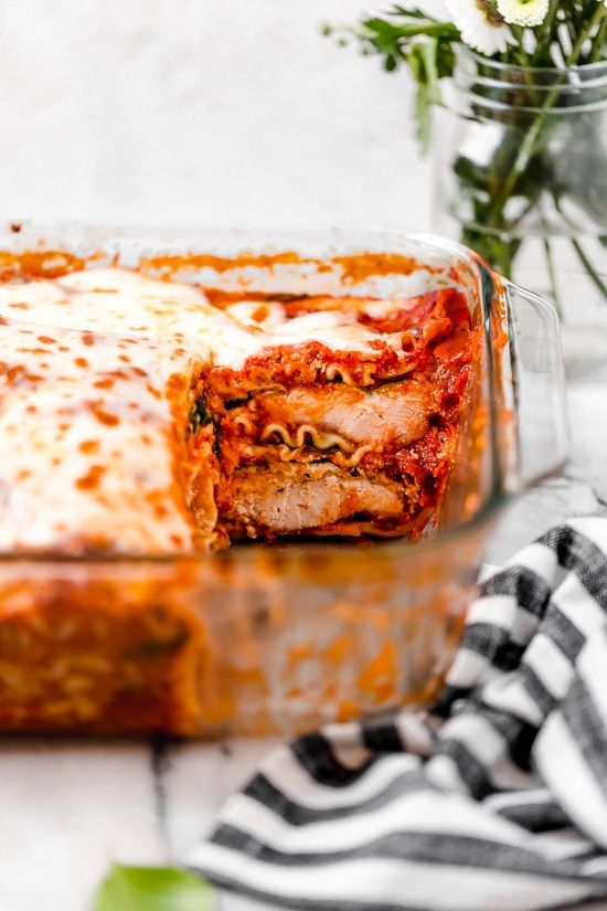 Chicken Parmesan Lasagna