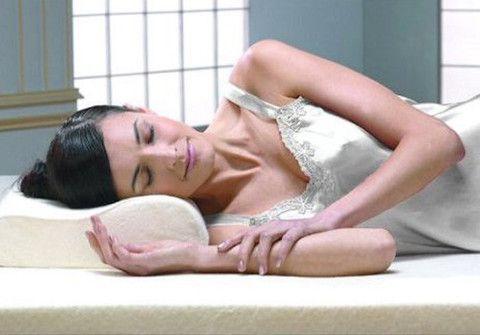 "Livingston Home 14"" x 19"" Premium Memory Foam Pillow"