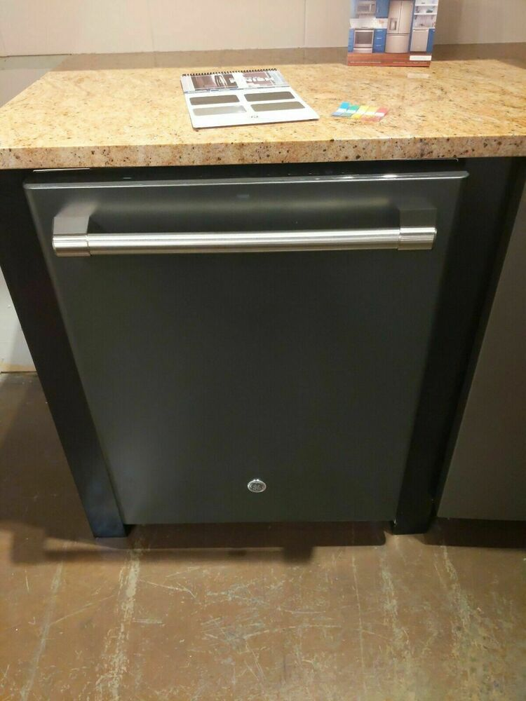 Ge Cafe Series Cdt865smjds Dishwasher Piranha Food Disposer Black Slate 40 Dba Ge Modern Slate Dishwasher Cafe
