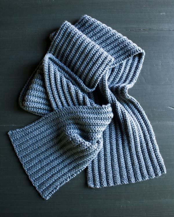 no purl rib pattern. Great idea for neice to try. Add some ...